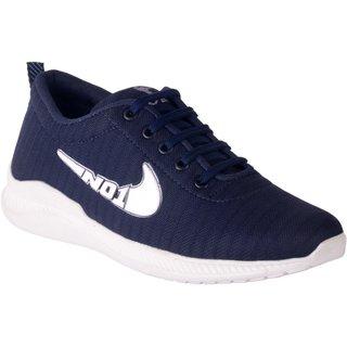 Pardus Men's Blue Stylish Sports Shoes