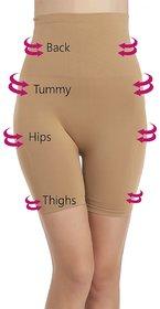 Tkeshto Women's 4-in-1 Tummy, Back, Thighs, Hips Shaper /Comfort Fit/Easy Stretch/