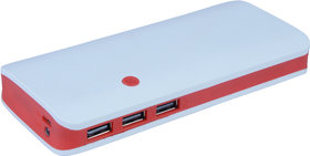 Hobins P3 Fast Charge 20000 Mah Power Bank (Red)