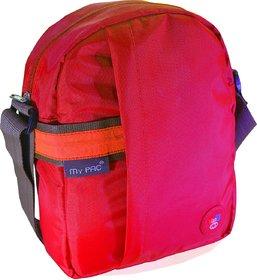 My Pac Vivaa Unisex Waterproof Sling bag Red C11593-3