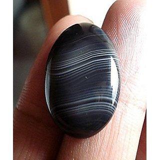 5.25 Ratti Sulemani Akik Stone Original IGL Certified Best Quality Black Hakik Gemstone Jaipur gemstone