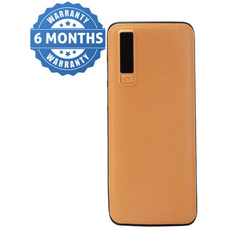 Hobins Brown 10400 mAh Battery Power Bank