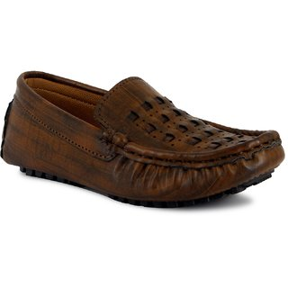 ONCE MORE BROWN COLOR CASUAL LOAFERS FOR KIDS/BOYS