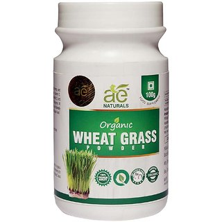 AE NATURALS Pure Organic Wheat Grass Powder 100g