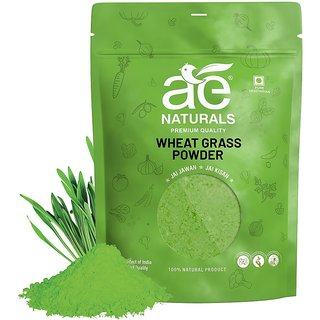 AE NATURALS Pure Organic Wheat Grass Powder 100g