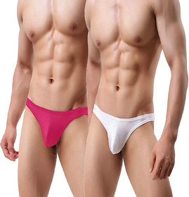 The Blazze Men's Sexy Soft Low Thongs Innerwear G Strings Briefs Vests Boxers Trunks