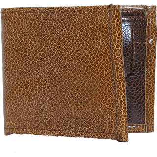 Stylish Textured Wallet For Men (Synthetic leather/Rexine)
