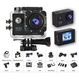 Hy Touch 1080p Full HD 12MP CMOS H.264 Sports Action DV Camera Waterproof Recording and Mount Bike Camera