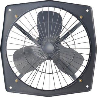 Candes High Speed Solo Fan 9 3 Blade Exhaust Fan (Black)