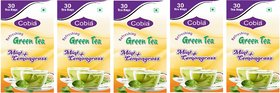 Cobia Green Tea (Mint + Lemongrass) 30 Tea Bags Pack Of 5