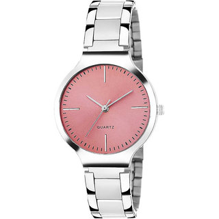New  Stainless Steel Belt Watch For Girl  Women