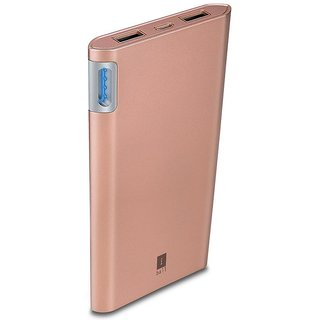 iBall 10000 -mAh Li-Polymer Power Bank (Gold)