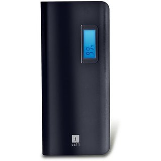 iBall 20000 -mAh Li-Ion Power Bank (Black)