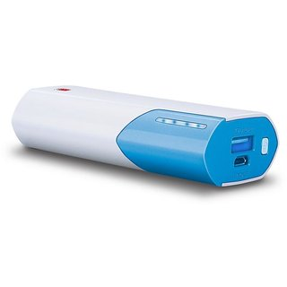 iBall 5000 -mAh Li-Ion Power Bank (Sky Blue)