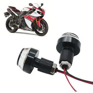 Bike Turn Signal LED Handle Bar Light for Yamaha YZF R1 ( White  Blue )