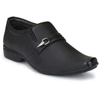 Lee Peeter Men's Black Formal Shoe