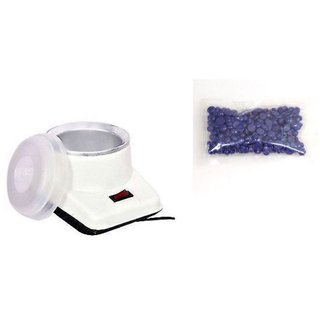Electric Wax Heater With Hair Remover Wax 100gm Electric Wax Heater