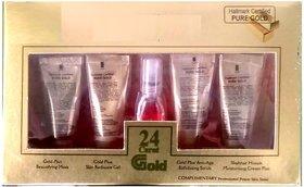 New shahnaza husain gold facial kit (set of 5) 55gm