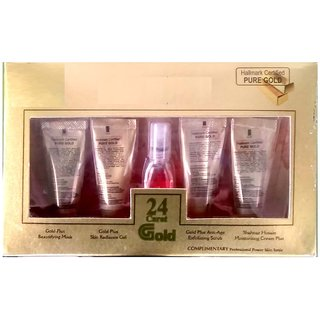 New shahnaza husain gold facial kit (set of 5) 55gm