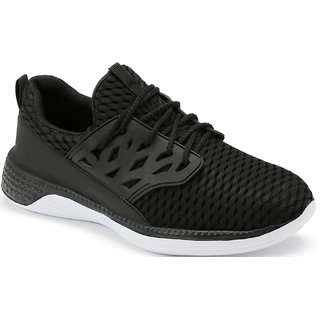 Clymb Soorma Black Walking Gym Sports Shoes For Mens In Various Sizes