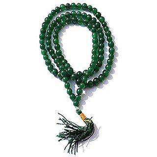 100  Original Green Agate/ Sulemani Hakik mala By Jaipur Gemstone