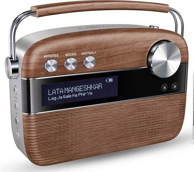 Buy Saregama Carvaan Radio SC04 Portable Music Player ( Oak