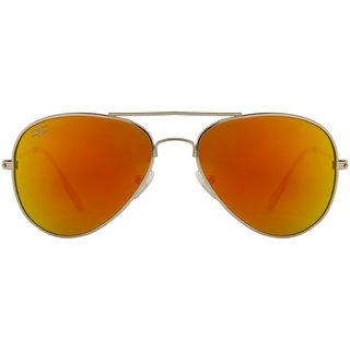 Rozior Classic UV400 Mirror Sunlight Aviator Kids Sunglasses