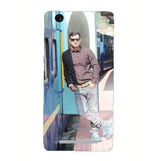 Personalized Men Photo Back Cover for Redmi 3s