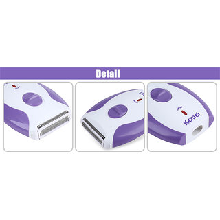 Kemei Km 280r Rechargeable Shaver Epilators For Women  multicolor , Shaver And Trimmer For Women