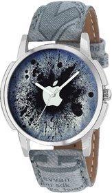 Men's Analog Quartz Multicolor Dial Round Watch