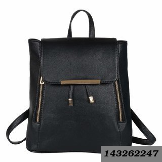 Fashion Accessories Women Girls Ladies Backpack Fashion Shoulder Bag Rucksack Pu Leather Travel Bag 172 Black