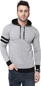 Bi Fashion Round Neck Contrast Hood Full Men's Designer T-shirt