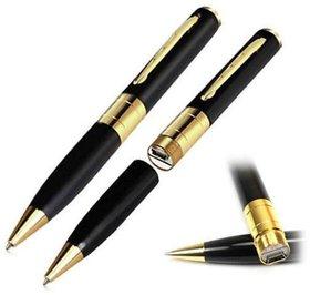 HD Gold  Black Spy Pen Camera Pen Spy Product