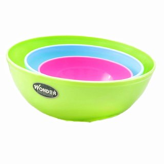 WONDER Sigma Mix 3 PC Bowl Set