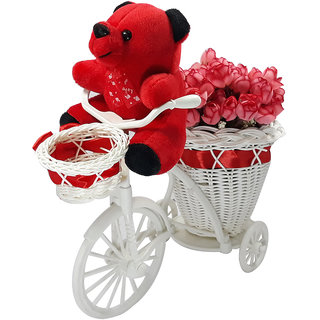 LOF Beautiful Flower Basket For Girlfriend and Wife Valentine propose Day Gift Set007