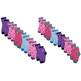 Kids printed  socks pack of 12 with premium  fabric