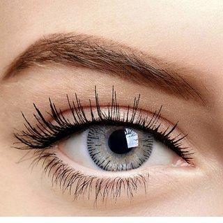 fe0da5e8c030 Buy Crystal Eye Grey Colour Monthly(Zero Power) Contact Lens Online - Get  52% Off