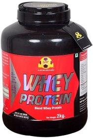 Sap Nutrition Whey Protein 2kg Jar vanilla