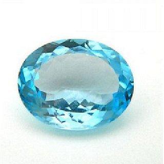 IGL Certified 6.25 Ratti Natural Blue Topaz Stone 100% Original Unheated & Untreated Blue Topaz Stone Jaipur Gemstone