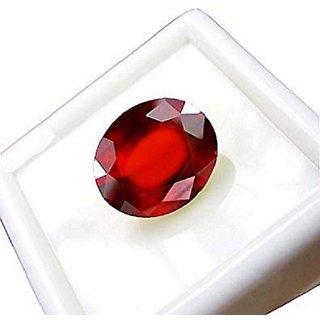 Jaipur Gemstone Natural 6.5 ratti Natural Gomed  Stone Unheated & Untreated  Hessonite Stone