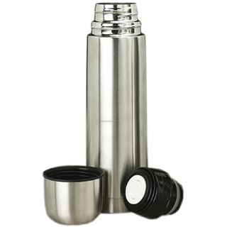 Stainless Steel 1000 ml Slim Hot Cold Water bottel