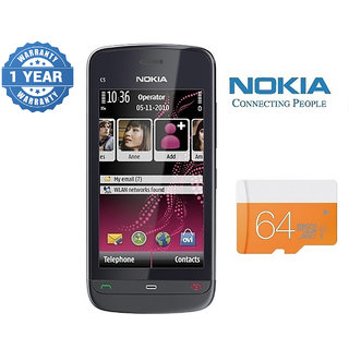 Nokia C503/ Good Condition/ Certified Pre Owned (1 Year Warranty) with 64GB Memory Card