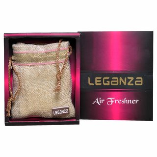 Leganza Air Freshener for Home Car Office - Fragranced Wood, Lightweight, Hanging Perfume, Pack of 2 cubes