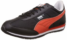 Puma Men Black Velocity Sneakers