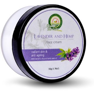 Health Horizons lavender Hemp Face Cream 50g