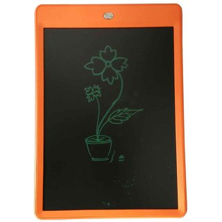Portable E-Writer 10 LCD Writing Pad Paperless Memo Digital Notepad Stylus Drawing Tablet (Orange)
