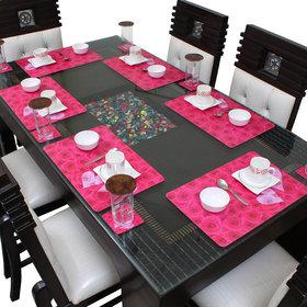 Dream Care Dining Table Placemats Set of 6 (6Pcs Mat + 6Pcs Coaster)