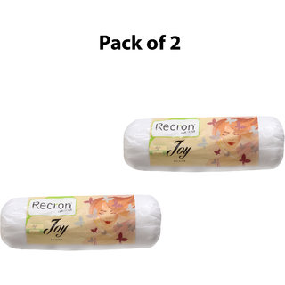 Recron Certified Bolster: Joy Size: 9x24 Inch (Pack Of 2)