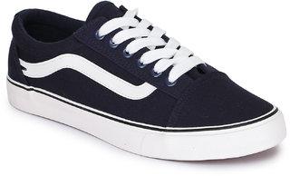 REFOAM Men's Navy Denim Casual Shoes