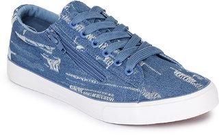 REFOAM Men's Blue Denim Casual Shoes